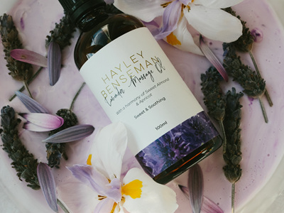 Lavender Massage Oil NEW