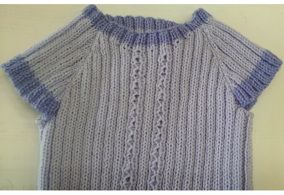 61ab1a333 Merino 3 ply Baby Singlet with Sleeves - Jumper Co