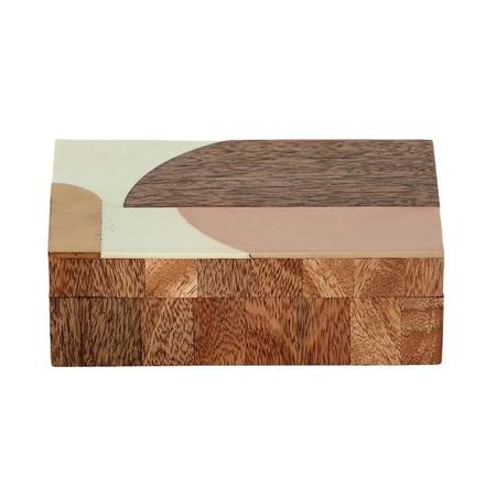 LAVI WOOD/RESIN BOX 10X15.5CM