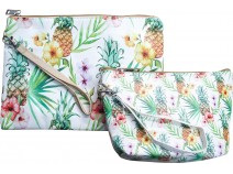Lavida Cosmetic Bag S/2 Pineapple