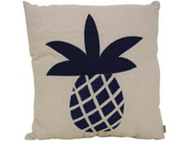 Lavida Cushion Navy Pineapple
