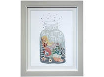 Lavida Framed Print Mermaid Jar 2