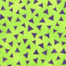LB Basic Triangle LIme