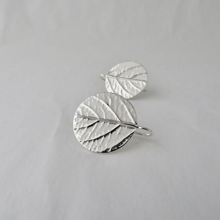 Leaf Disk Earrings