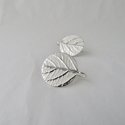 Leaf Disk Earrings