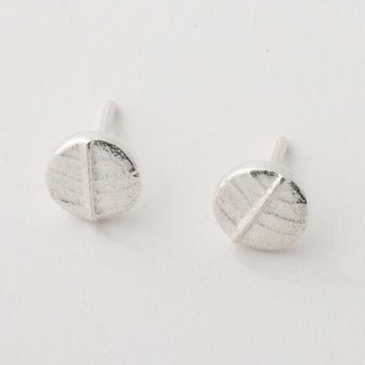Leafy Dot Earrings