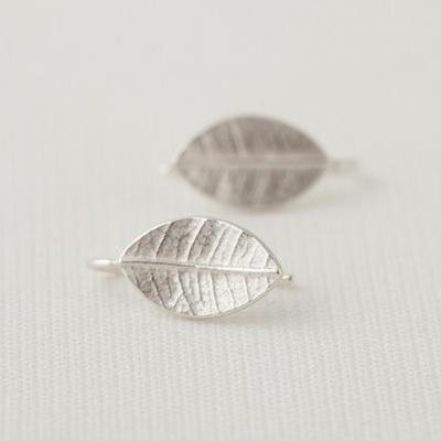 Leafy Drop Earrings