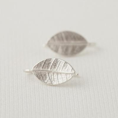 Leafy Drop Earrings