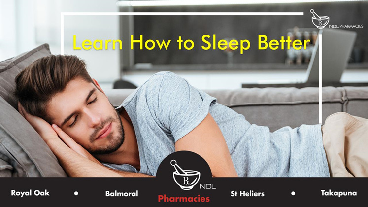 Learn How to Sleep Better