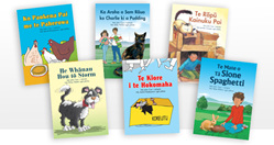 Learn-to-Read Storybooks Series 1 - TE REO EDITION - all six readers in one set