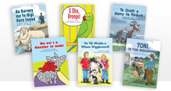 Learn-to-Read Storybooks Series 2 - TE REO EDITION - all six readers in one set