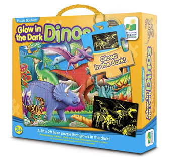 Learning Journey 100 Piece Jumbo Floor Puzzle: Glow In The Dark Dino's