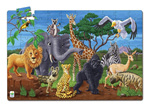Learning Journey 100 pce floor puzzle Wildlife Glow at www.puzzlesnz.co.nz