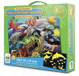 Learning Journey Puzzle Double Glow In the Dark Sealife