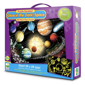 Learning Journey Puzzle Double Glow In The Dark Space