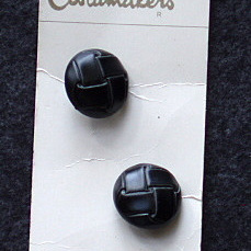 Leather buttons