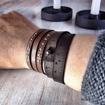 Leather Wrist Rulers by ILoveHandles