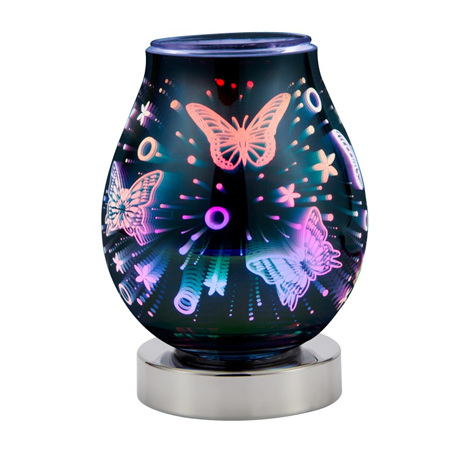 LED 3D Warmer Butterflies