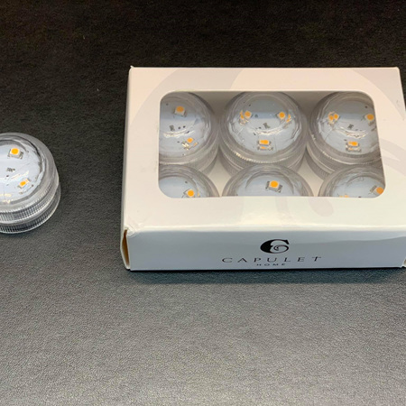 LED Battery Powered Tealight Pack of 6