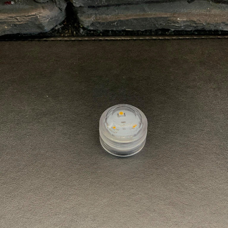 LED Battery Powered Tealight Single