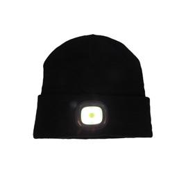 LED Beanie - Black