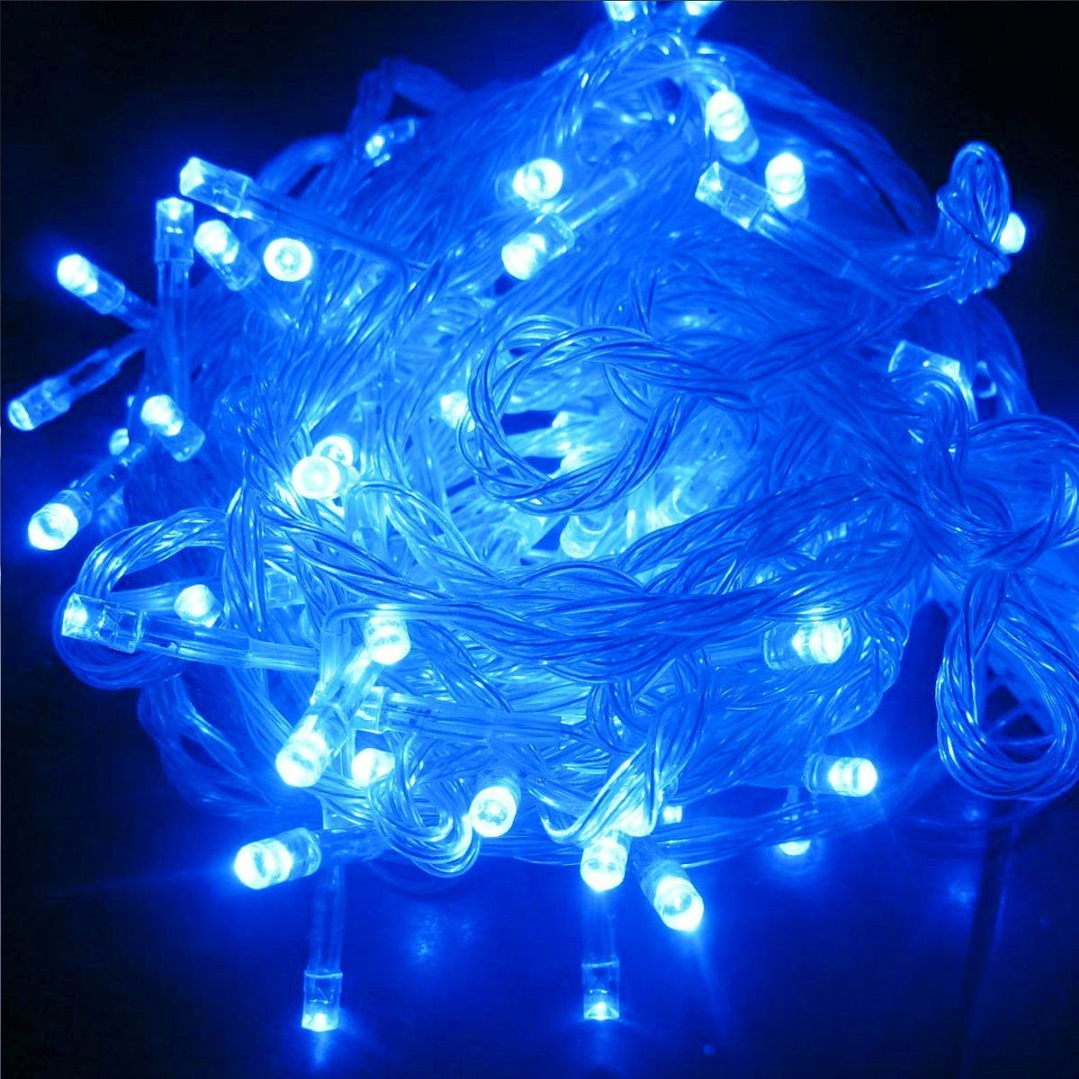 Light Bulb String Lights Nz : LED Fairy Lights 10m 100 lights - Blue - Party Lights Company