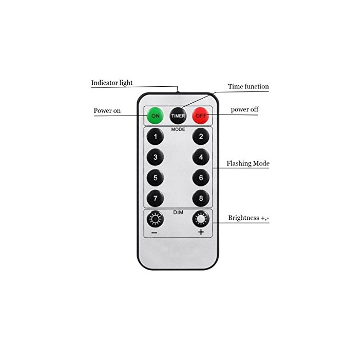 led fairy lights remote control
