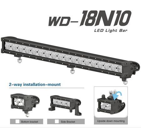 LED Light Bar - 18LED - 16200 Lumen