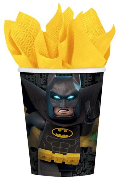 Lego Batman cups x 8