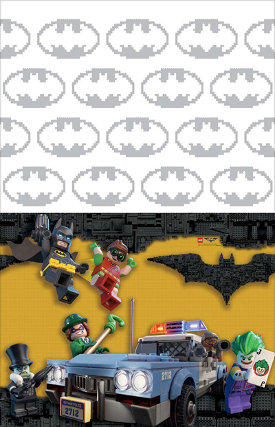 Lego Batman tablecover