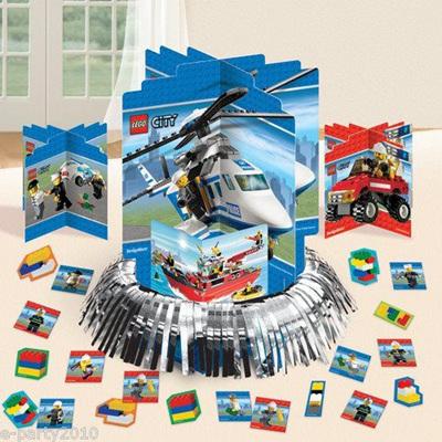 Lego City Table Decorating Kit