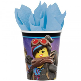 Lego Movie cups x 8