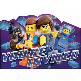 Lego Movie invites x 8