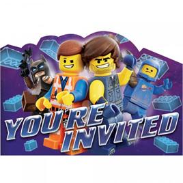 Lego Movie invites x 8