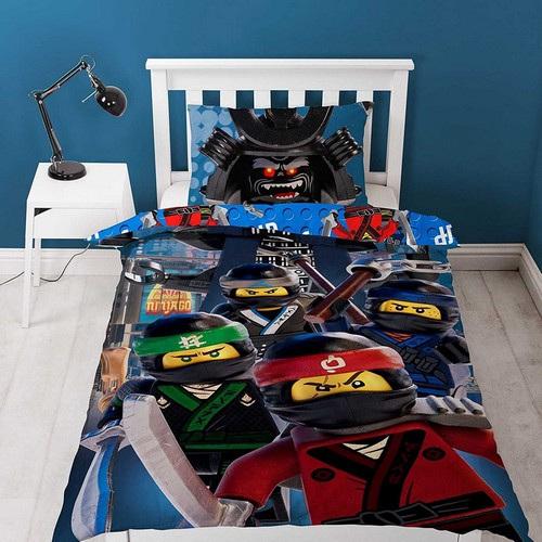Lego Ninjago Crew Reversible Single Duvet Cover Set