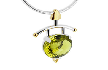 Lemon Citrine Pendant