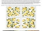 Lemon Drops IOD Transfer Pad