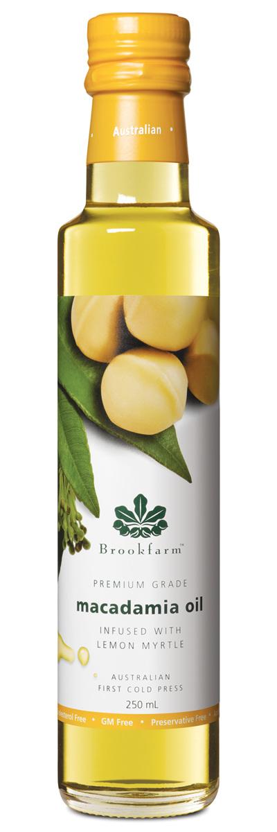 Lemon Myrtle Infused Macadamia Oil - 250ml