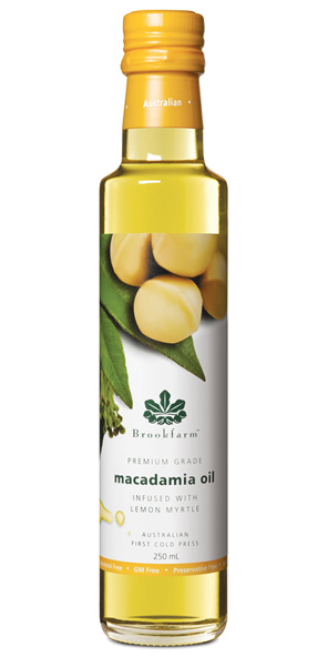 Lemon Myrtle Infused Macadamia Oil - 250ml