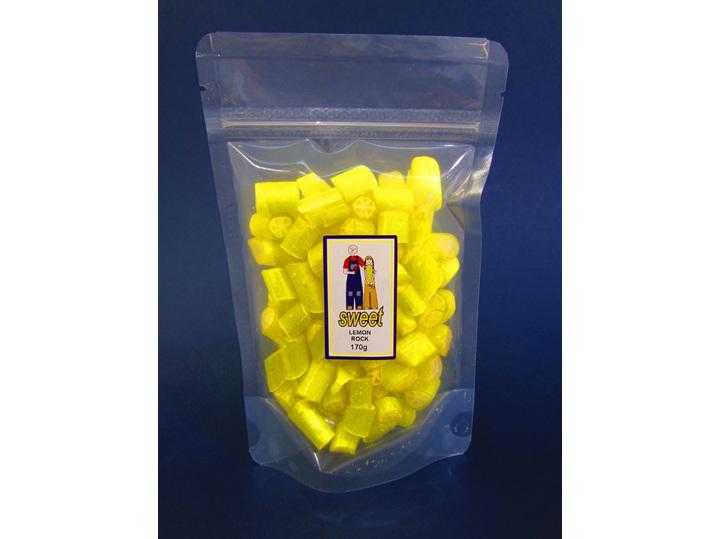 lemon rock candy bag