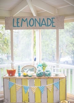 Lemonade stand elite event hire manufacture for Rustic lemonade stand