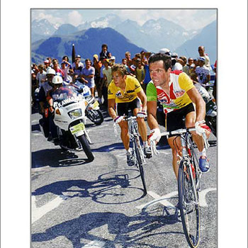 Lemond & Hinault - 1986 Tour de France