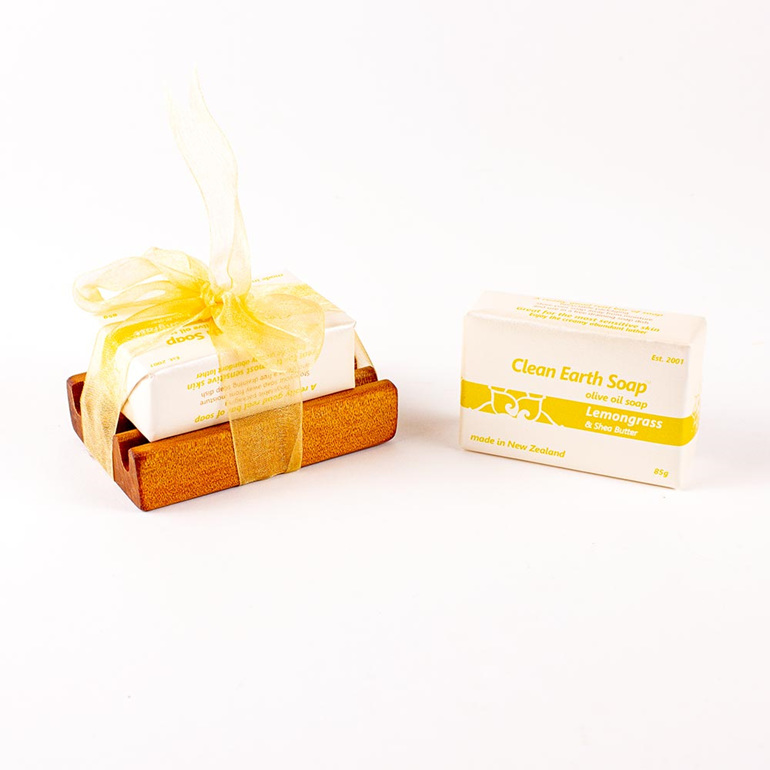 lemongrass clean earth soap