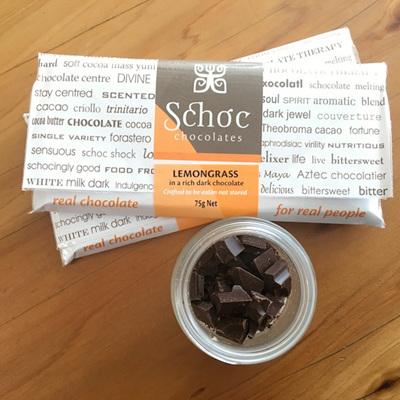Lemongrass dark chocolate