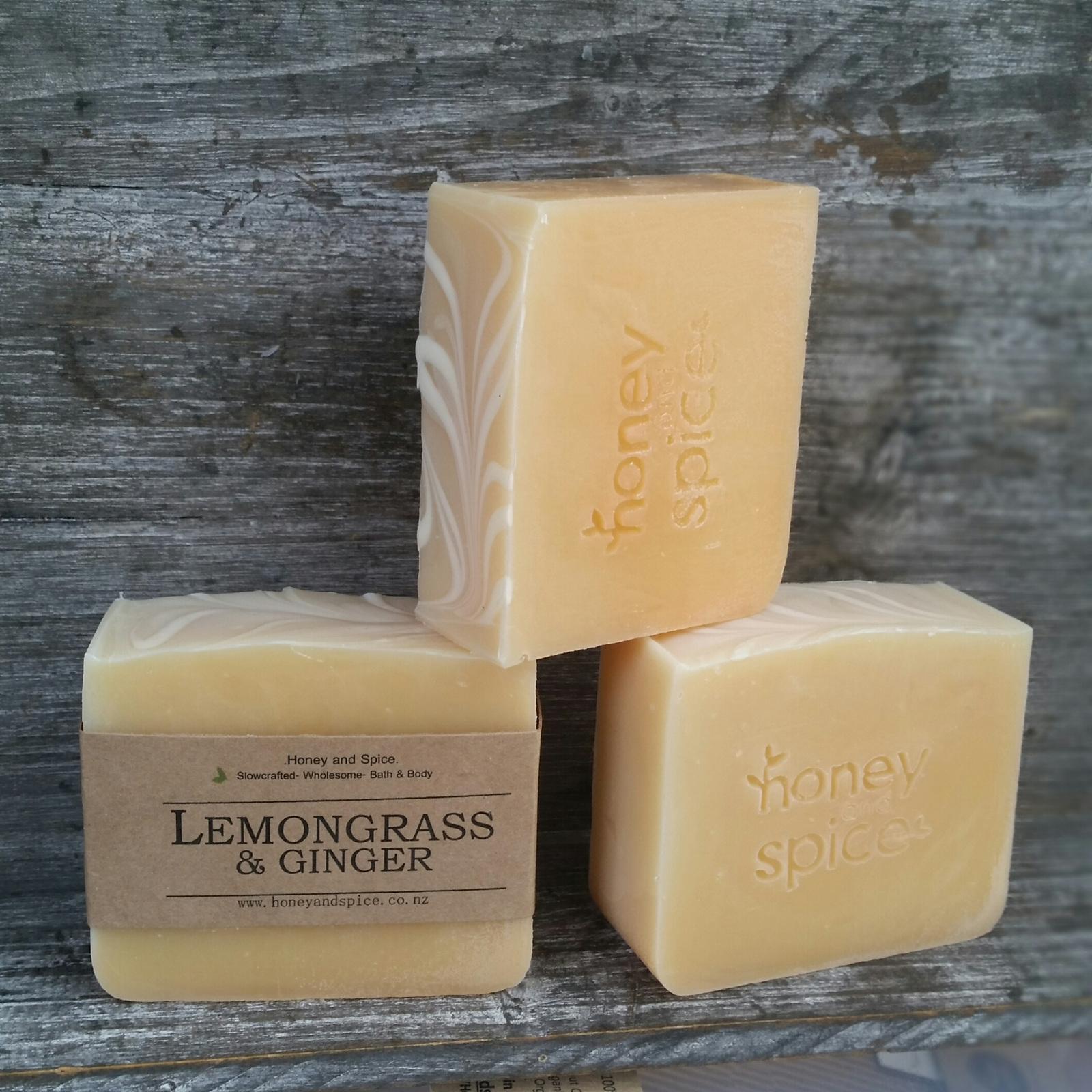 Lemongrass Amp Ginger Soap Honey And Spice