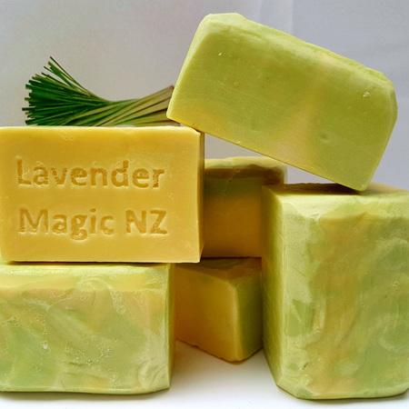 Lemongrass- Handmade Soap