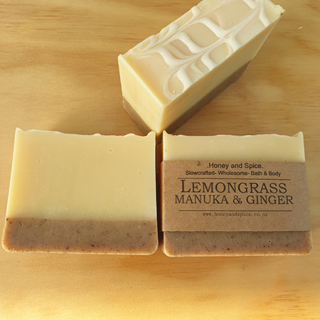 Lemongrass, Manuka & Ginger Soap