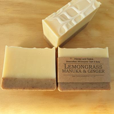 Lemongrass, Manuka & Ginger Soap
