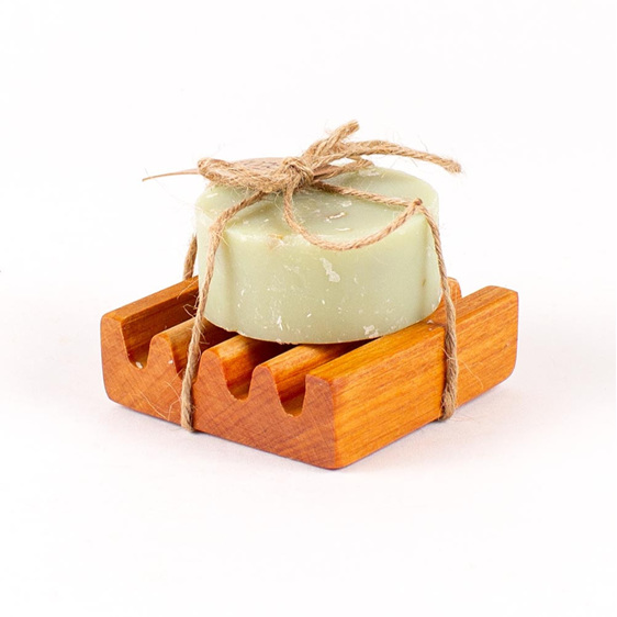 Lemongrass, Rosemary and Lime Soap on Small Dish