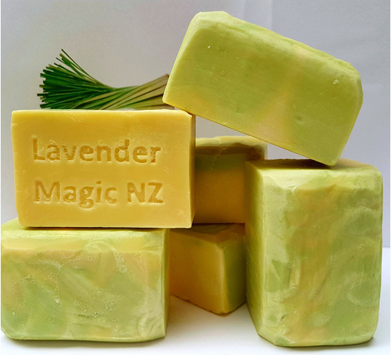 Lemongrass soap by Lavender Magic